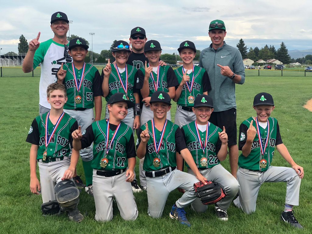 Congratulations to the 12U OTRD Burley Green Sox Team Black traveling baseball team! 2020 Shelley All-Star Tournament CHAMPIONS!